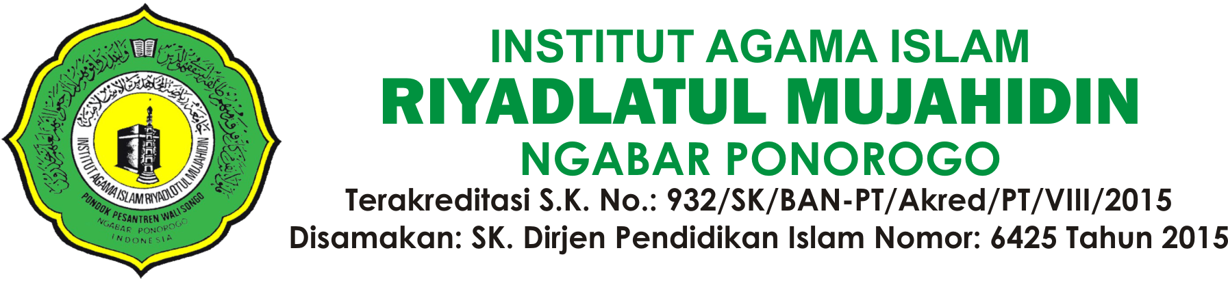 Institut Agama Islam Riyadlotul Mujahidin (IAIRM Ngabar)