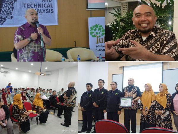 Kunjungan Mahasiswa Fakultas Syari`ah Prodi HES. ke Kantor Perwakilan Bursa Efek Indonesia (BEI) DIY