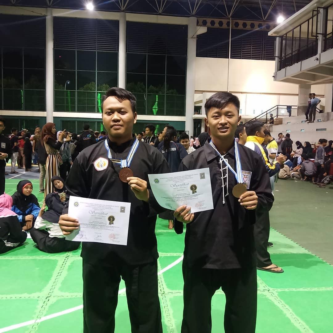 Juara 3 Event PSHT UM Open Kelas D Putra Tahun 2019